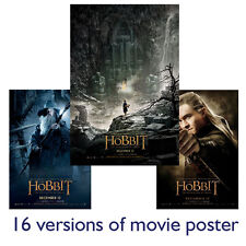 Hobbit The Desolation of Smaug Movie Posters A1 A2 A3 Premium satin gloss print