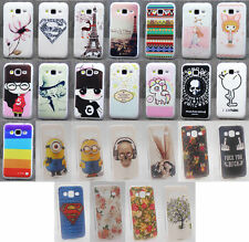 For Samsung Galaxy Core Prime SM-G360 G3606 G3608 Soft Tpu Painted Case Cover
