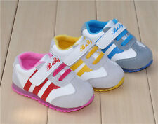 Very soft baby's shoes for spring and velvet shoes for winter flashing sneakers