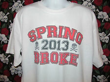 SPRING BROKE TEE ** Funny and Cool College Men's Graphic Tee Spring Break