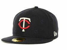 NEW ERA 59FIFTY FITTED MLB ALL OVER IT HAT/CAP - MINNESOTA TWINS 7 1/8 & 7 5/8