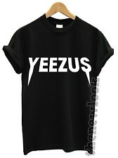 YEEZUS T SHIRT TOUR CONCERT TOP KANYE WEST SWAG DOPE HIP-HOP FAN FESTIVAL NEW