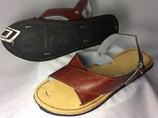 NEW LEATHER MEXICAN two strap SANDALS HUARACHE MENS made in mexico *ALL SIZES*