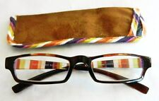 """(2 PACK ) Foster Grant """"HARVEST"""" Reading Glasses with Case(M155) Choose Strength"""