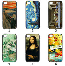 iPhone Samsung Hard CASE Phone COVER Famous Paintings Collection M18