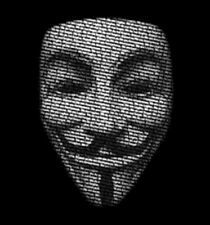 Anonymous Mask V For Vandetta 99 Percent Occupy Revolution T-Shirt Tee