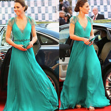 Celeb Full Long Dress Evening Party Ball Prom Gown Formal Bridesmaid Cocktail