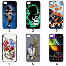 Designer Phone Hard Case Cover Skull TGIF Race Collection 5b