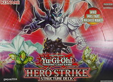 YuGiOh Structure Deck Hero Strike SDHS Common 1st Edition Choose from list