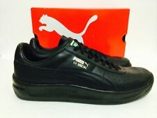 MENS PUMA GV SPECIAL Casual Walking Sneakers Black/Black 343569-45 Leather QS 1