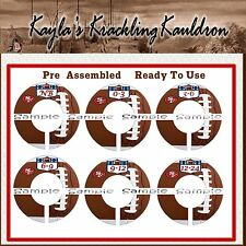 San Francisco 49ers Football inspired PRE-ASSEMBLED Custom Closet Dividers