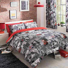 London City Copripiumino QUILT Cover Bedding Set Singolo Doppio King