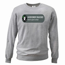 Achievement Unlocked Hand XBox Spoof Funny Mens Sweater Gaming PC