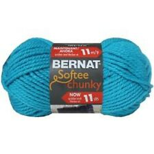 Bernat Softee Chunky Solids Super Bulky Acrylic Knitting Crochet Yarn