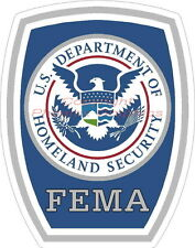 Homeland Security FEMA Police Sheriff Emergency Management CERT Decal Sticker