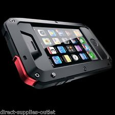 Impermeabile Shockproof alluminio Gorilla metallo Cover per Apple iPhone modelli