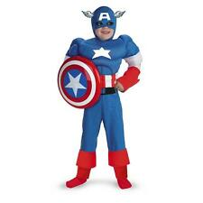 CAPTAIN AMERICA Classic Muscle Child Costume Boys Licensed Outfit