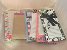 Magnetic List Notepads YOUR CHOICE Sealed in pack Various Themes FREE SHIP OFFER