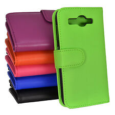 Side ID Wallet Leather Case Cover for Huawei Ascend Y520 520 + Screen Guard
