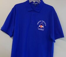 Colorado Rockies NHL Hockey Embroidered Mens Polo Shirts S-6XL New Jersey Devils