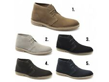 Selected Homme SEL SHLEON Mens Suede Leather Lace Up Casual Ankle Desert Boots
