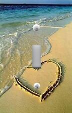 Light Switch Plate & Outlet Covers BEACH DECOR - LOVE HEART IN THE SAND OCEAN