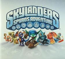 SKYLANDERS SPYROS ADVENTURE FIGURES Wii/Xbox360/PS3 GIANTS/TRAP TEAM/SWAP FORCE