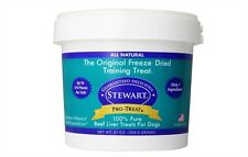 Stewart Pro Freeze Dried BEST Dog Treats DOG FOOD Beef Liver FREE FAST SHIPPING