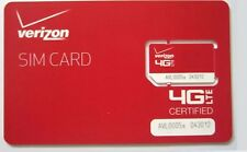 Verizon Unlimited Data Sim Card For All 4g Capable devices LTE  XLTE No Throttle