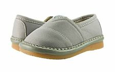 Brand New Baby Boy Toms Inspired Squeaky Shoes Grey - Size 2 3 4 5