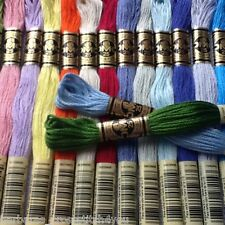 46-100 SKEINS DMC STRANDED COTTON SKEINS/THREADS - PICK YOUR OWN COLOURS