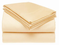 100% Pure Natural Finest Egyptian Cotton 200 Thread Count Fitted Sheet Latte