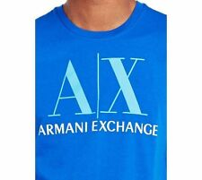 New Armani Exchange Mens Slim Muscle Fit Classic Logo