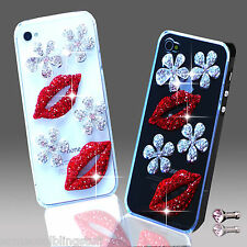 NEW 3D DELUX COOL LUXURY BLING FLOWER DIAMANTE CASE FOR IPHONE SAMSUNG SONY HTC