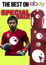 Manny Pacquiao Training T-Shirt Tee PACMAN eating Money Floyd Mayweather May2
