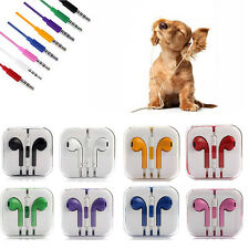 3.5mm Music with Microphone Volume Control Earphone Earbud Headset For Mp3 Phone