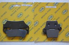 FRONT&REAR BRAKE PADS for HUSQVARNA WR 125 250, 06-13 WR125 WR250