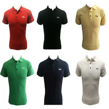 NEW  HUGO BOSS  MENS POLO Cotton SHIRT Short Sleeve SIZE : S ,M ,L ,XL