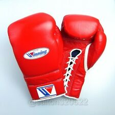 Winning Boxing Gloves Lace Up Professional Type MS-600 16 oz From Japan