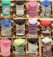dog dress clothes hoody apparel cartoon T-Shirt for teacups toy small size dogs