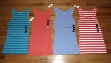 NEW NWT Womens GAP Boyfriend Tank Top Ribbed Stretch CHOOSE SIZE & COLOR *N7