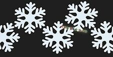 Xmas decor snow wall window glass stickers wall snowflake door Decal