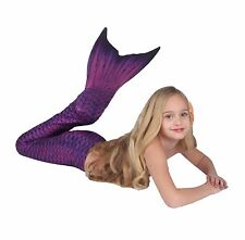 Eco Mermaid Tail (Magenta Plum) by Mertailor - Kids - Includes Monofin Swim Fin