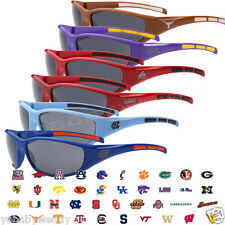 NCAA COLLEGE TEAM LOGO FOOTBALL BASKETBALL BASEBALL SPORTS WRAP SUNGLASSES