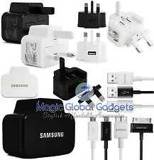 100% GENUINE SAMSUNG MAINS CHARGER & USB DATA CABLE FOR SAMSUNG GALAXY PHONES