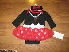 DISNEY BABY MINNIE MOUSE OUTFIT~HALLOWEEN COSTUME~TUTU~DRESS~NEWBORN~3-6 M~NWT