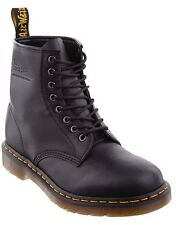 Dr Martens New 8 Hole Boots 1406 Black Mens/Womens 8 Eye