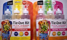 Tie Dye Kit Clothes Customising No Pre Soaking Just Add Water Easy To Use