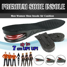 1 Pair Men Air Cushion Heel Shoe Insole Insert Increase Taller Height Lift 7 cm