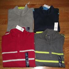 NEW NWT GAP GapKids Boys French Ribbed 1/2 Zip Sweater Choose Color & Size *C9